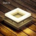 Светодиодный потолочный светильник Regron  современный квадратный потолочный светильник для гостиной  1 шт.  мини-светильник для дома  прихоже...