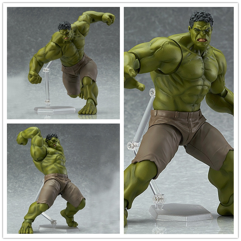 Tobyfancy Hulk Action Figures The Avengers 2 Hulk Figma Toys 271# PVC Captain America Action Figure Model Toy Hulk avengers movie hulk pvc action figures collectible toy 1230cm retail box
