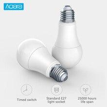 Original Xiaomi Aqara 9W E27 2700K-6500K 806lum Smart White Color LED Bulb Light Work with Home Kit and MIjia App Control