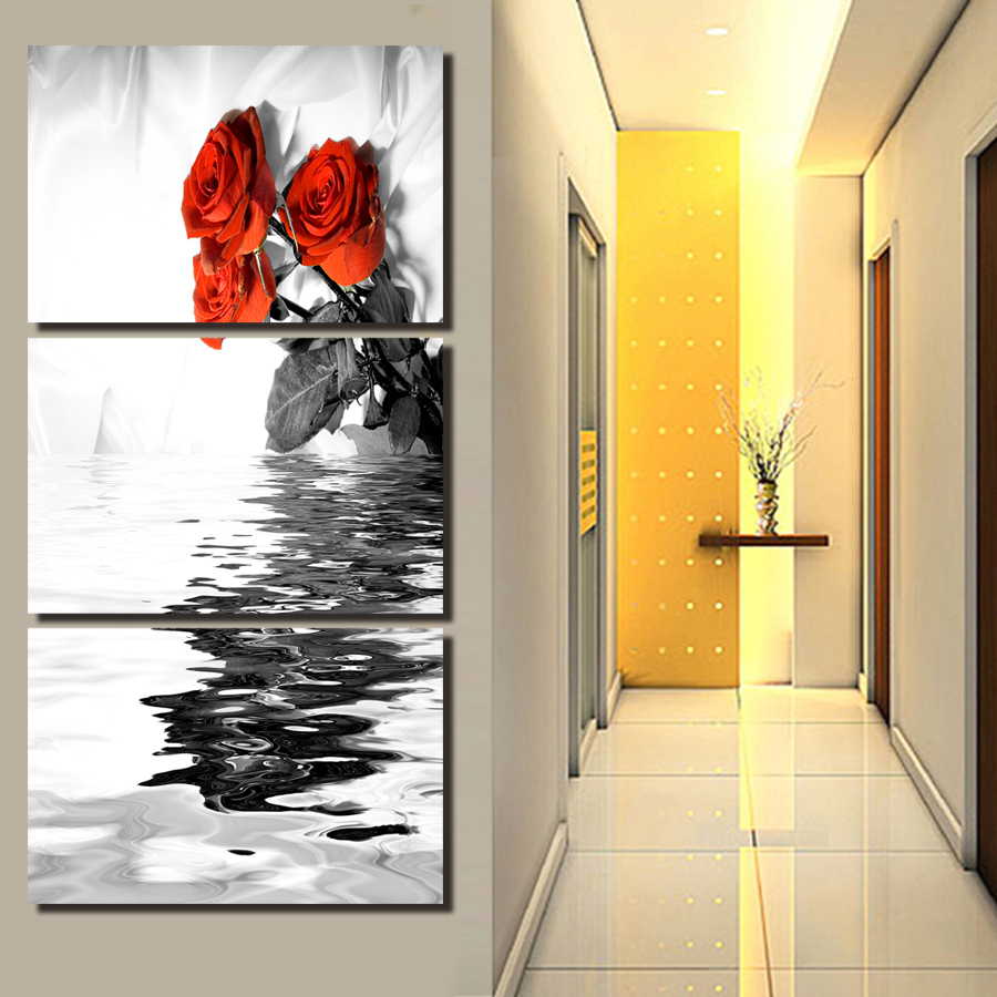 ᐂ3 Pieces Unframed Wall Art Map Restoring Ancient Ways Painting ...