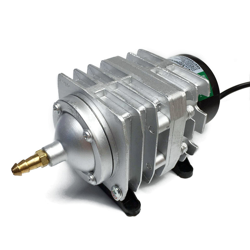 Electromagnetic Air Compressor 220V 25W 45L/min Electric Aquarium Air Pump With Local Plug Adaptor