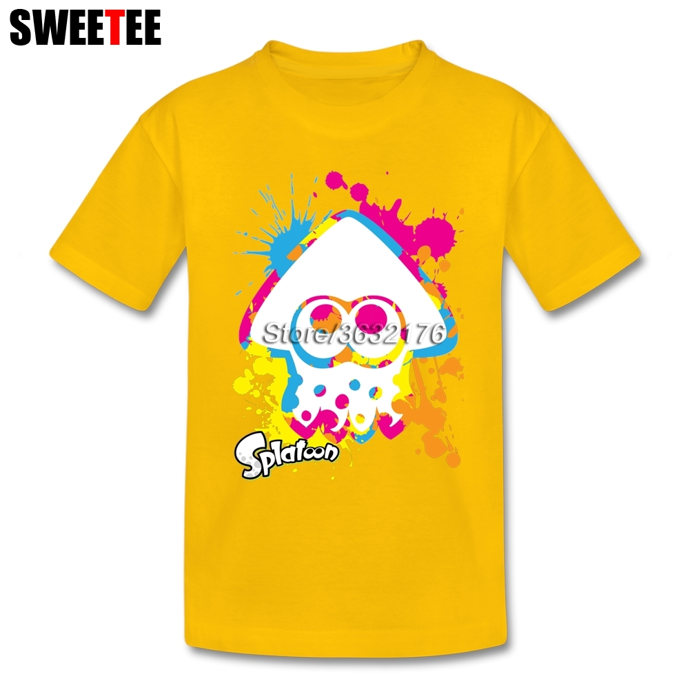 Funny Game Splatoon T-shirt Amazing Clothes Unisex 100% Cotton 4T-8T lerro definition funny italian family name unisex t shirt