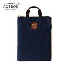 A4 Oxford File Folder Bag Men Portable Office Supplies Organ