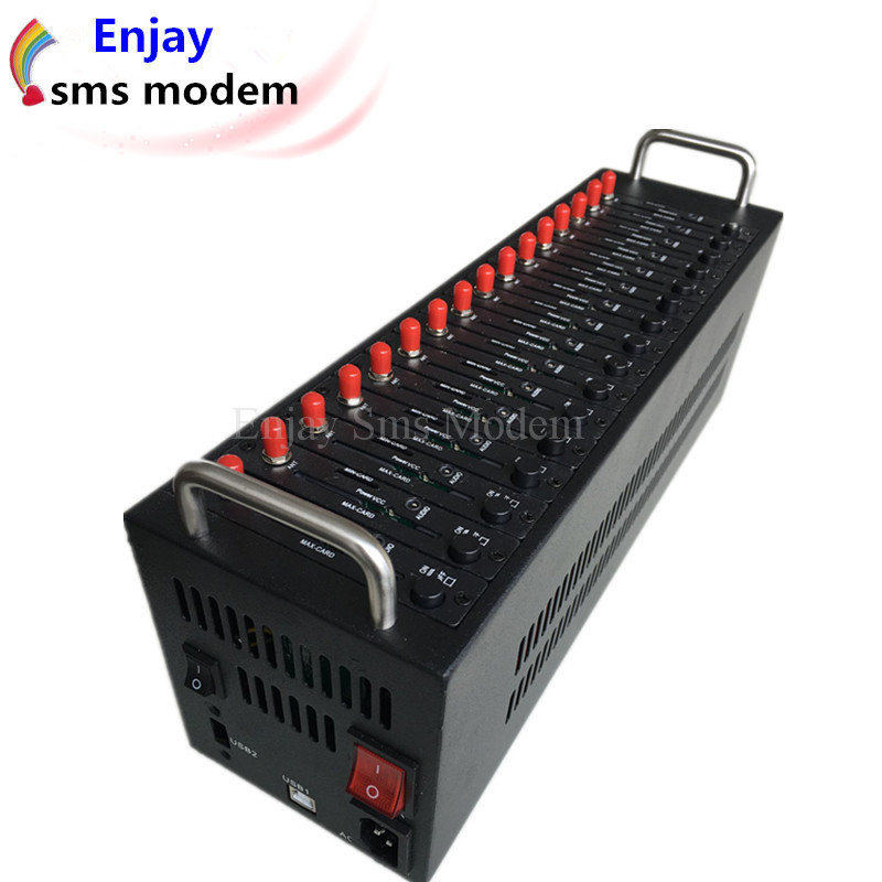 Prix pour 2016 Promotionnel Wavecom 16 ports wavecom q2303 vrac sms modem piscine avec moins cher gsm module Sms massa gsm modem
