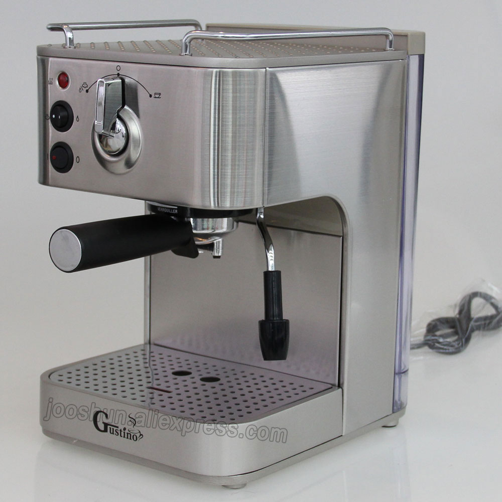 China 19bar High Pressure Steam Coffee Machine Italian Type Maker Espresso Household Nespresso Cuccino Milk Foam In Makers From Home