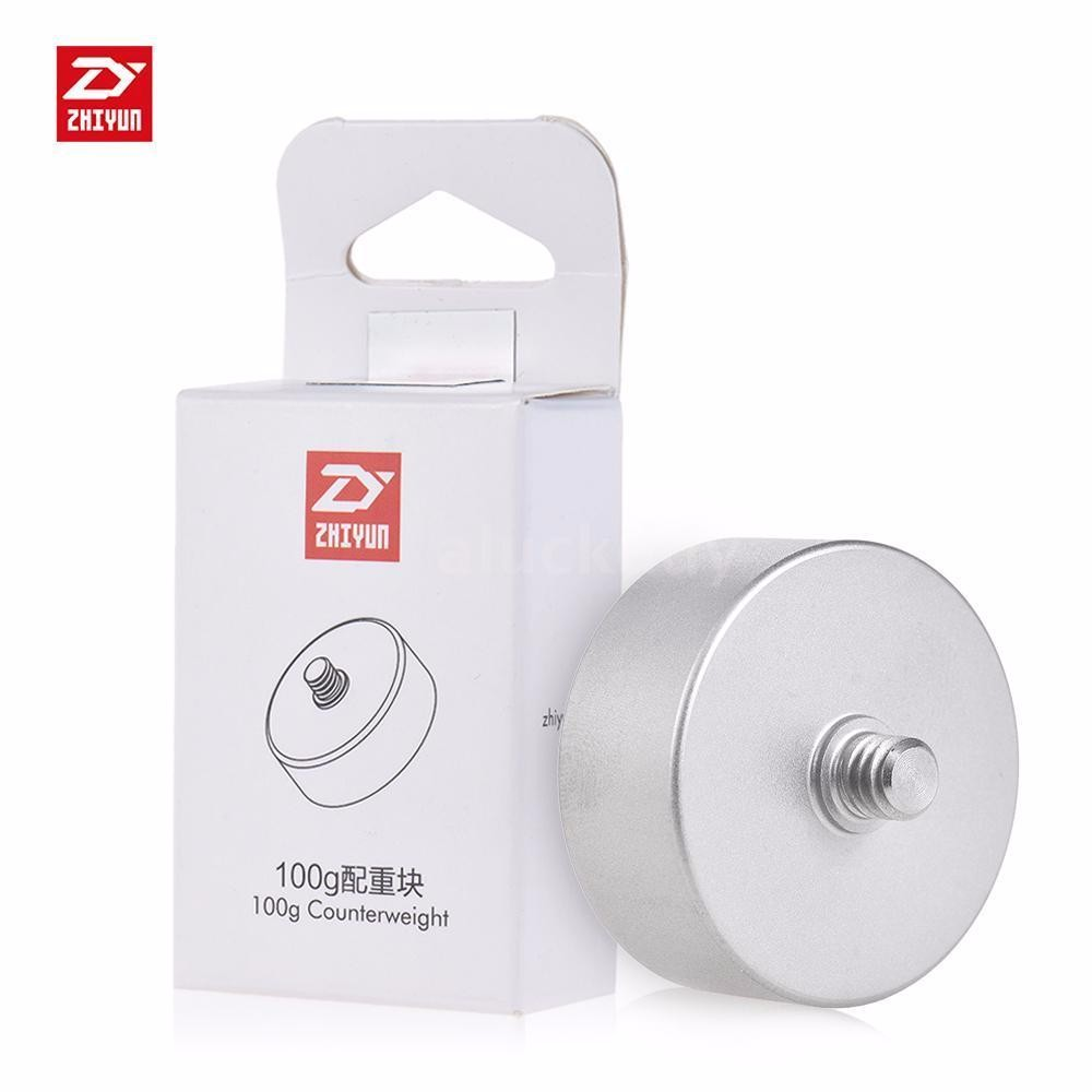 ZHIYUN 100g Counterweight for Zhiyun Crane 2 V2 Crane-M 3 Axis Handheld Gimbal Stabilier - 1/4 Screw Hole Cleaning Cloth
