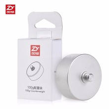 ZHIYUN 100g Counterweight for Zhiyun Crane 2 V2 Crane-M 3 Axis Handheld Gimbal Stabilier - 1/4 Screw Hole Cleaning Cloth