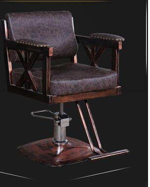 Hairdressing retro iron industrial wind hair chair factory direct hair salon barber shop special swivel chair