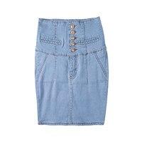 Summer Women S Clothing Big Yards Embroidery Denim Female Short Skirt Fashion Leisure Tall Waist