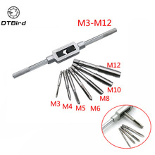 Screw-Tap-Holder Internal-Threads Hand Metal Metal-Processing M3-M12 for DT6 8pcs/Set