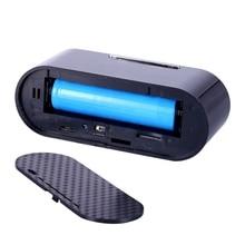 Мини WI-FI удаленного Управление камеры часы HD WI-FI Ночное видение будильники ИК Смарт видеокамеры Поддержка TF карты