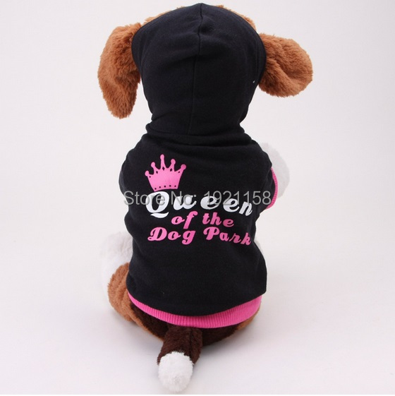 Cute Leisure Pet Dog clothes Dog snowflake Queen Clothes Pullover Warm Costumes Puppy Coat