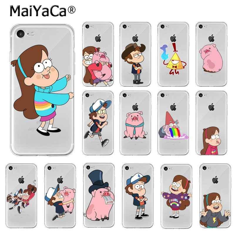 Maiyaca Gravity Falls Cute Girl Mabel Pines Tpu Soft Phone