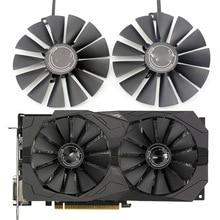 95 мм PLD10010S12H кулер вентилятор для ASUS ROG STRIX Dual RX 470 570 для AMD RX470 RX570 игровая видеокарта вентилятор охлаждения