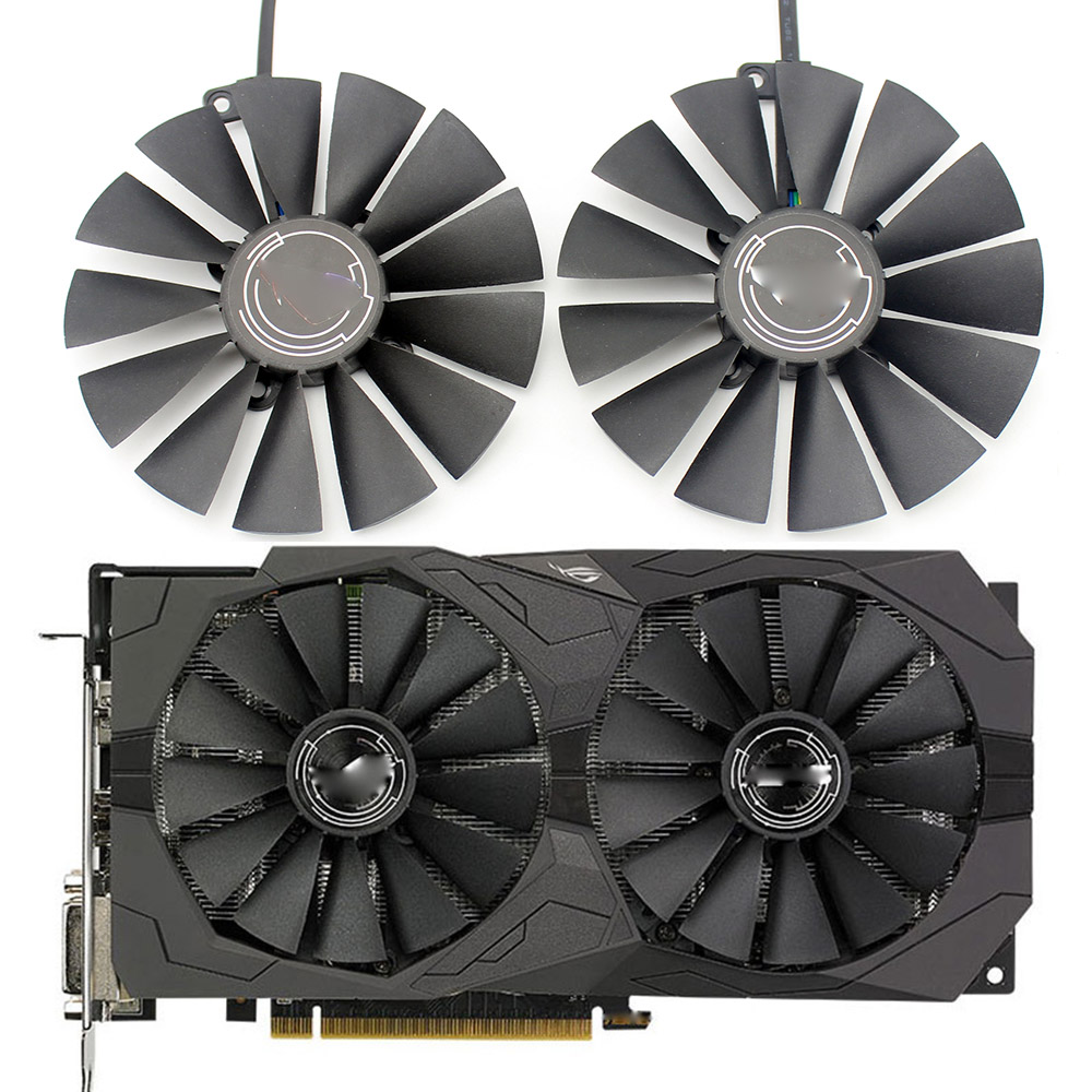 New 95MM PLD10010S12H Cooler Fan For ASUS ROG STRIX Dual RX 470 570 For AMD RX470 RX570 Gaming Video Card Cooling Fan|Fans & Cooling| - AliExpress