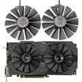 Neue 95 MM PLD10010S12H Kühler Lüfter Für ASUS ROG STRIX Dual RX 470 570 Für AMD RX470 RX570 Gaming Video karte Lüfter