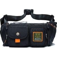 Men Waist Pack Bag Waterproof Oxford Multi Capacity Pouch Bum Purse Crossbody Messenger Chest Bag Fashion Hip Belt Fanny Pack