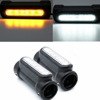Motorcycle Highway Bar Switchback Driving Light for Crash Bars for VCTORY Turn Signal Light for Motorcycle