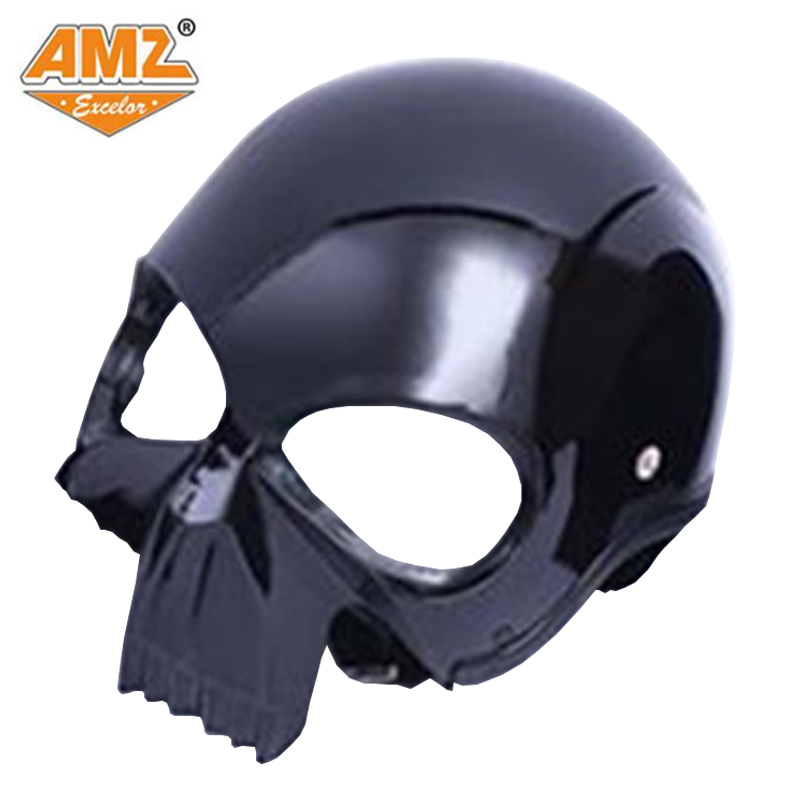 AMZ motorcycle helmet fashion personality cross country helmet heavy locomotive running helmet