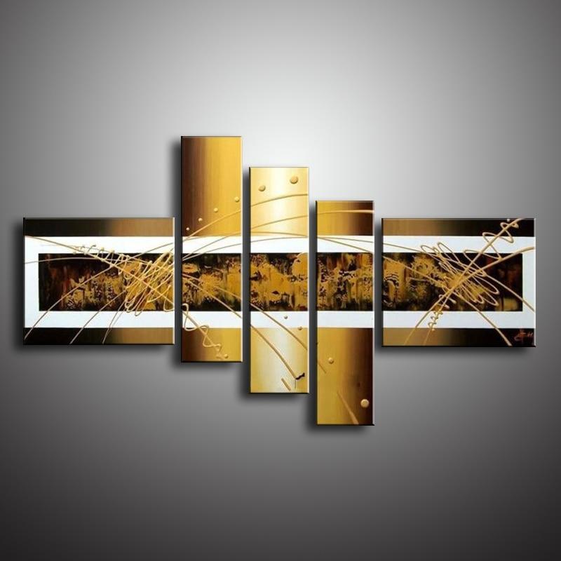 Decoración de la pared pintura al óleo pintura al óleo moderna - Decoración del hogar - foto 4