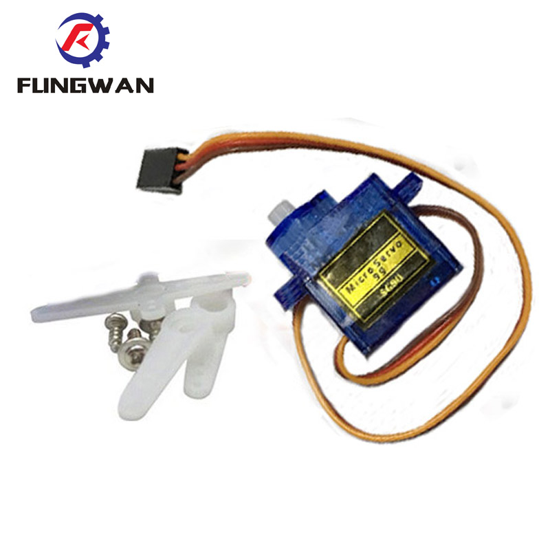 1 Piece Mini Micro Servo Sg90 9g For Rc For Rc 250 450 Helicopter Airplane Car Boat