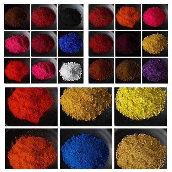 24 異なるすべてマット顔料粉末染料 · 化粧品グレード