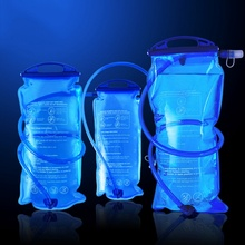 NEW Arrival 1.5L 2L 3L Eco-friendly PEVA Water Bladder Bag Hydration System for Sports Camping Hiking Folding Drinking Water Bag