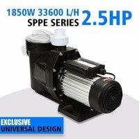 2.5 расход 560L/мин плавательный бассейн спа насоса HP/1850 Вт нпчп серии самовсасывающие SPA 100% соль клапан электрический
