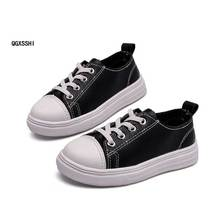 ab71a9eeb7195 Classique Enfants Chaussures Sneakers Mode PU Casual Chaussures Bébé Enfants  Chaussures Pour Garçons Filles En Caoutchouc