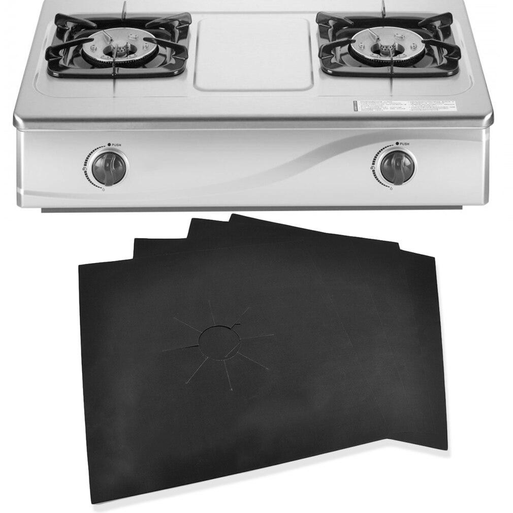 Новый 4 шт./компл. Кухня 27*27 см многоразовая газовая плита крышка горелки коврик