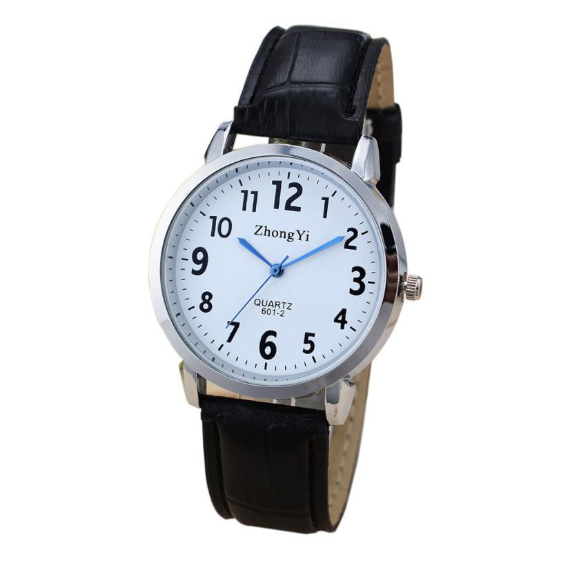 23267c6add982 Essencial 2017 Nova Relógios Homem de Negócios de Moda relógios de Pulso de  Quartzo Pulseira May26