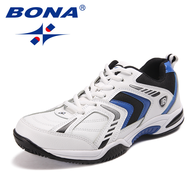 Image 3 - BONA New Classics Style Men Tennis Shoes Lace Up Men Athletic 