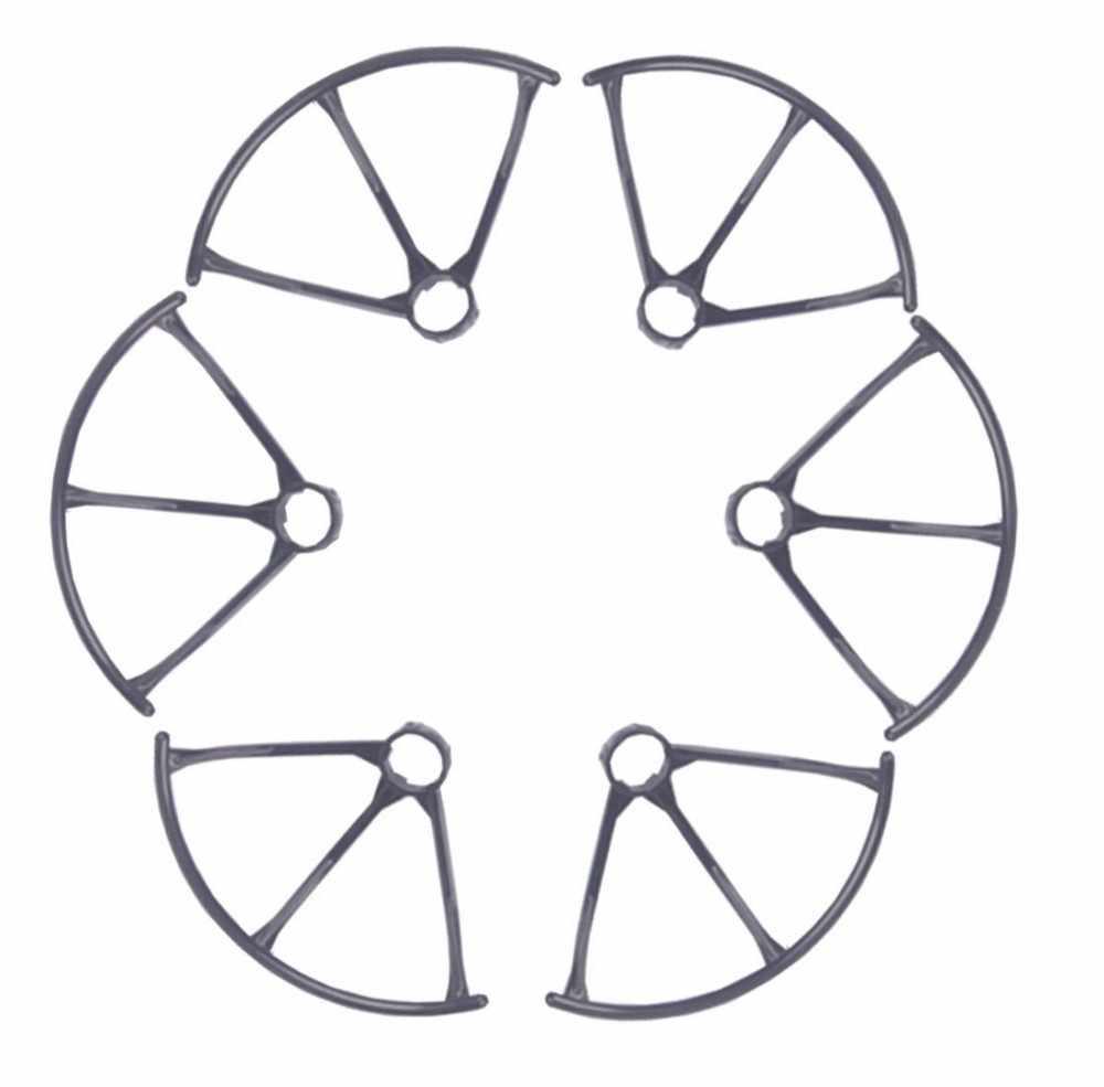 F15447/48 MJX X800 RC Drone Suku Cadang: 3 Pasang Baling-Baling Penjaga Bumper Protector untuk MJX Hexacopter 6 Poros Gyro UAV + FS