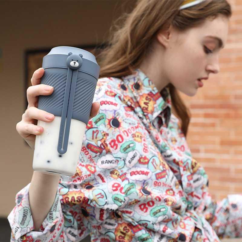 Elétrica Portátil Mini Fruta Vegetal Espremedor elétrico Liquidificador o Suco De Laranja Copo Para A Menina Ao Ar Livre