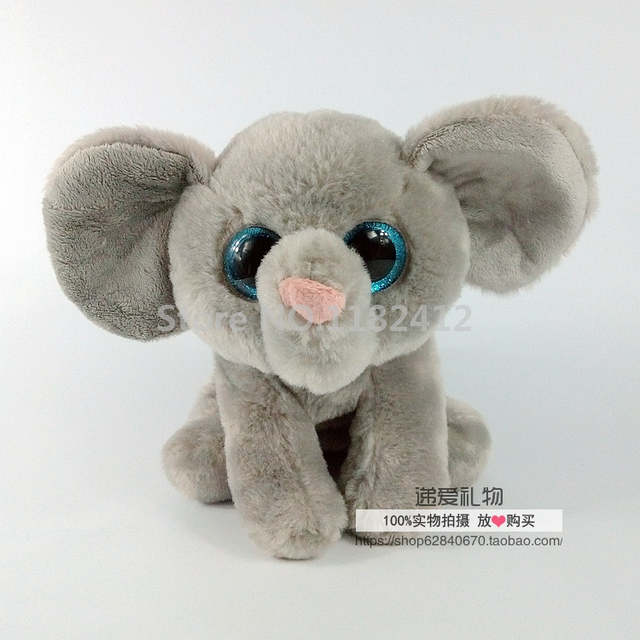 Online Shop Ty Beanie Babies Whopper Grey Elephant Plush Toy Stuffed