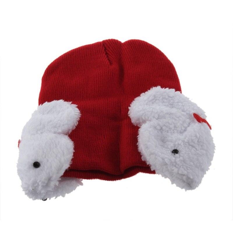 Baby Kids Winter Ear Protect Warm keeping Hat Cap Rabbit Earmuffs Beanie