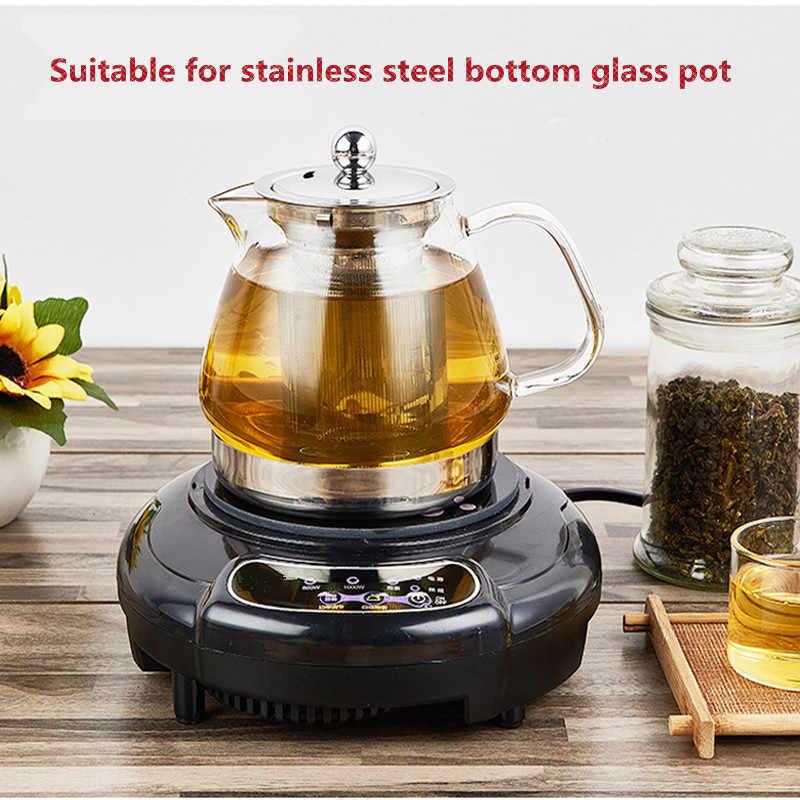 المنزلية الصغيرة مقاوم للماء موقد كهربائي يعمل بالاستقراء الحليب الماء القهوة مدفأة إبريق الشاي المغلي المعكرونة السفر الفرن