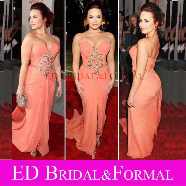 Aliexpress.com : Buy Demi Lovato Dress 2012 Peoples Choice Awards ...