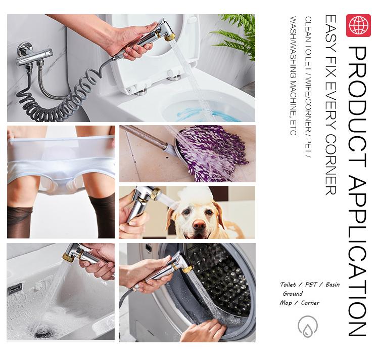 Wholesale shattaf hand shower toilet bidet sprayer