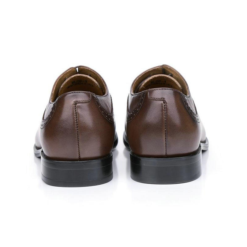 8edeeea5a03e Brand oxford Genuine leather men shoes wedding lace up UK fashion brown coffee  business male dress shoes men Oxford shoes BL02 1-in Formal Shoes from Shoes  ...