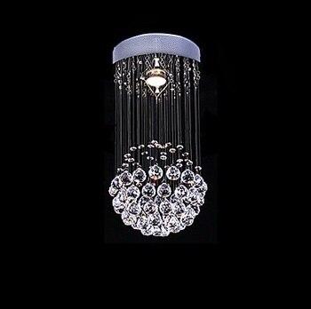 цена на 1 Light Bulb Included Modern LED K9 Crystal Ceiling Lights Lamp For Living Room Light Fixtures,Luminaira Lustres De Sala Teto AC