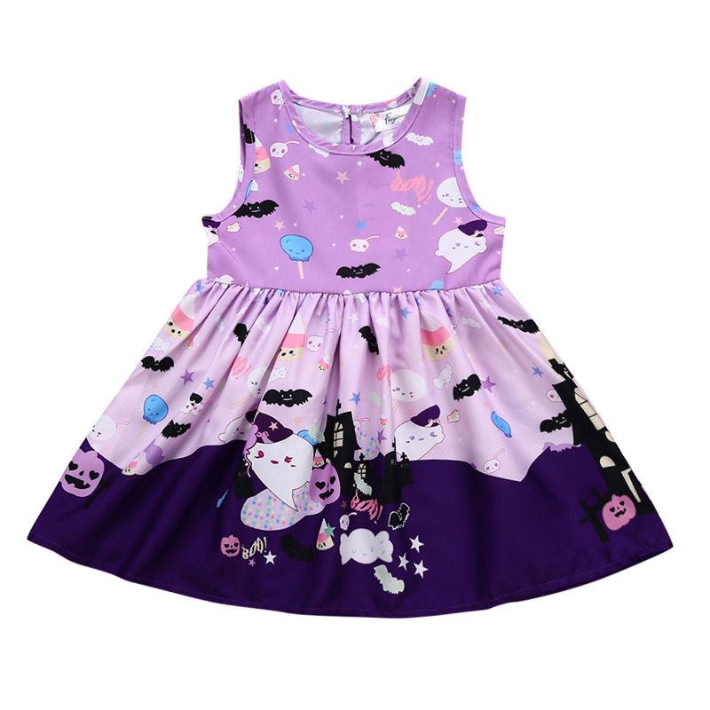 95625555c Hot Sale Halloween Newborn Kids Baby Girls Cotton Party Dress ...