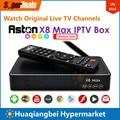 Aston X8 Max Android IPTV Caja de Paquete con Malayo Malasia India Indonesia Singapur Starhub TV VOD Canal sustituto de Astro