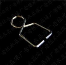 Najlepiej sprzedający się #8212 AAA najwyższej jakości 8*14mm + 500 sztuk partia metalowe haczyki galwanicznie chromu złącza dla kryształ żyrandol piłka wisiorki tanie tanio Kryształowy żyrandol 14cm W-110 500pcs chrome gold fengshui
