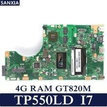 KEFU TP550LD Laptop motherboard for ASUS TP550LD TP550LA TP550L TP550 Test original mainboard DDR3L 4G RAM I7-4500U GT820M