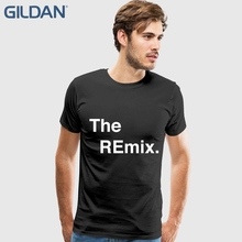 Manga corta Camiseta de algodón más única el remix hip-hop negro camisetas  Mans oversized a76fc9574cc77