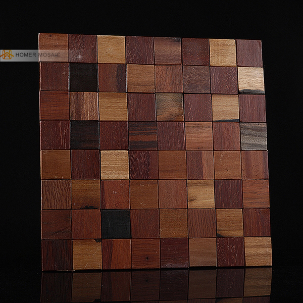 ̀ •́ Envío libre! Madera natural del azulejo de mosaico, patrón ...