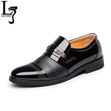 Г., летние мужские модельные туфли из лакированной кожи мужская обувь в деловом стиле модная мужская обувь в итальянском стиле мужская обувь, 38-47