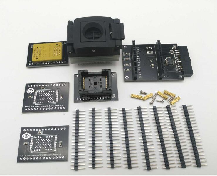 2018 последняя версия Easy-nand EASY NAND розетка для lphone socket Easy NAND работа с легкий JTAG плюс коробка