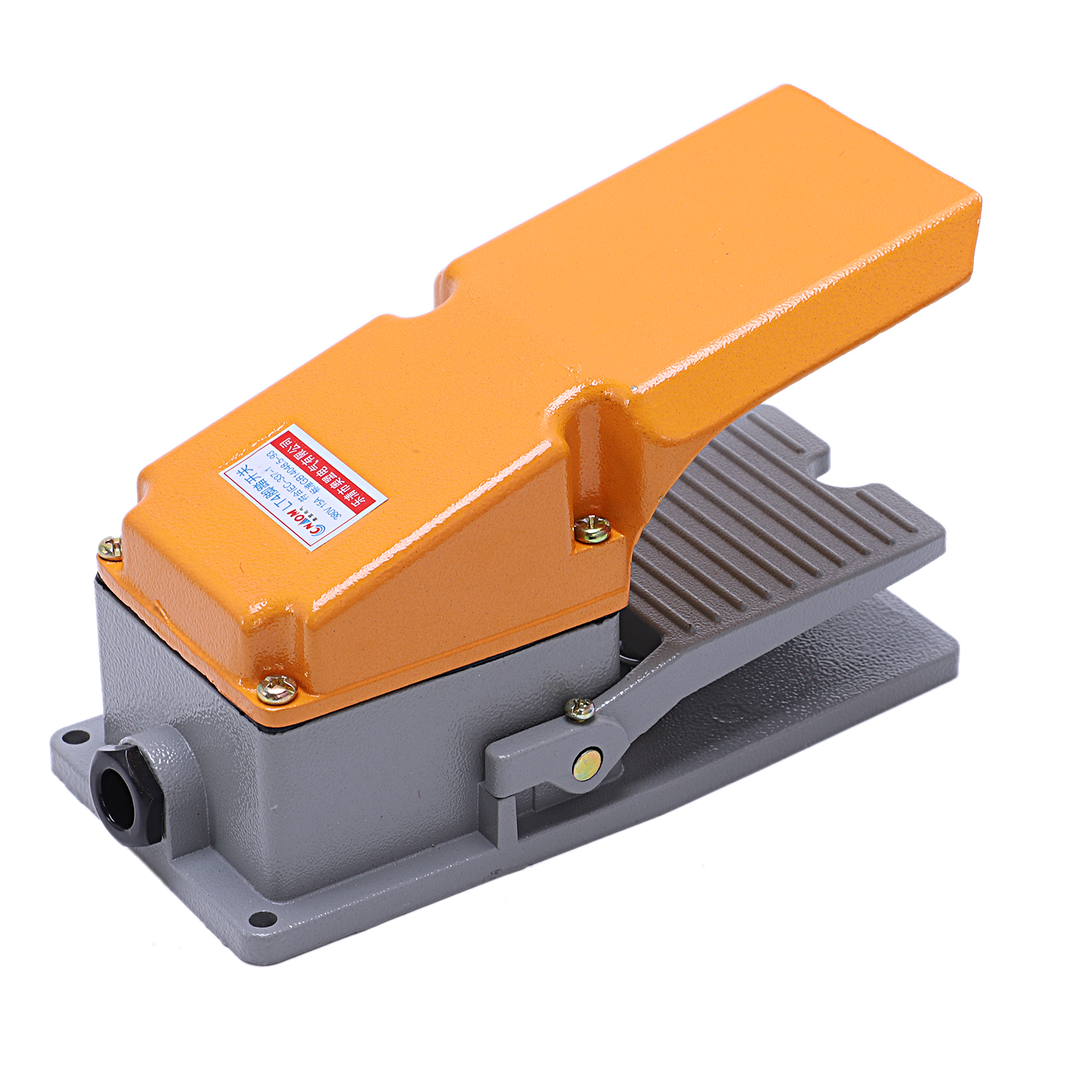 LT4 Foot Switch Aluminium Case Treadle Pedal Switch For Machine Tool  qwr